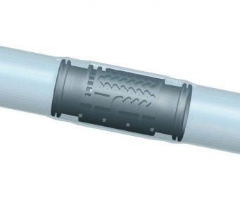 AZUD DRIP, gotejador cilíndrico integrado