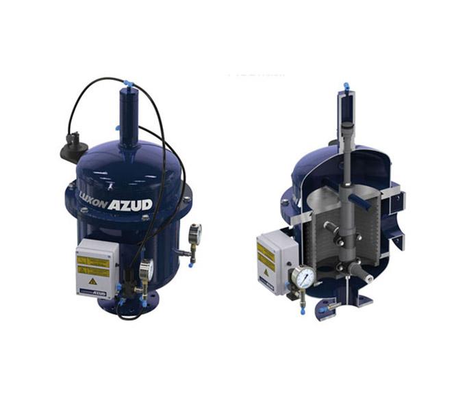 AZUD LUXON LCA, alta faixa de filtração