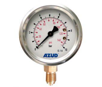 Manômetros AZUD, para vedação e medição