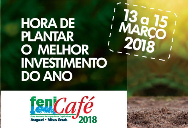 Azud estará na Fenicafé 2018: Feira Nacional de Irrigação em Cafeicultura